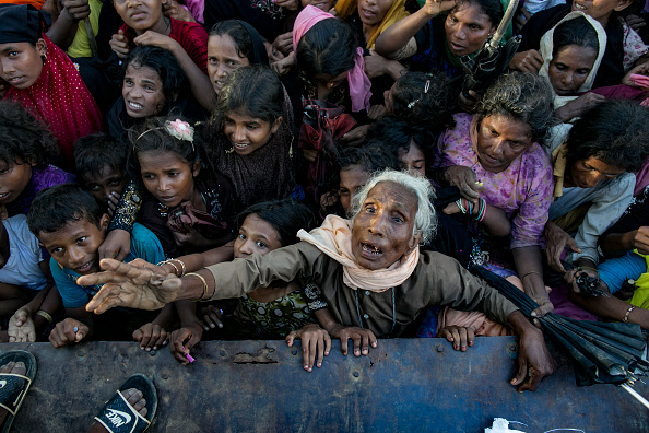 Rohingya Culture「Rohingya Refugees Flood Into Bangladesh」:写真・画像(3)[壁紙.com]