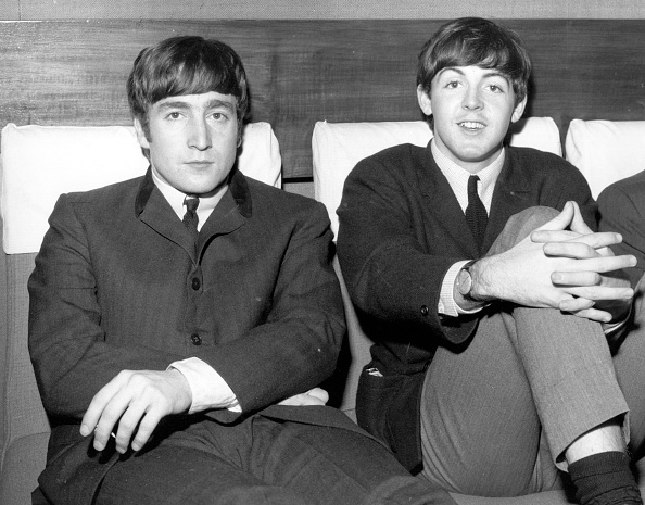ポール・マッカートニー「Two Beatles」:写真・画像(2)[壁紙.com]