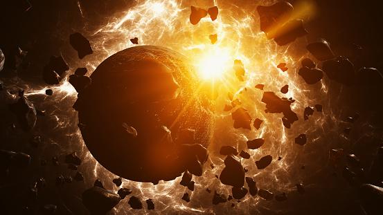 Volcano「Planet formation」:スマホ壁紙(5)
