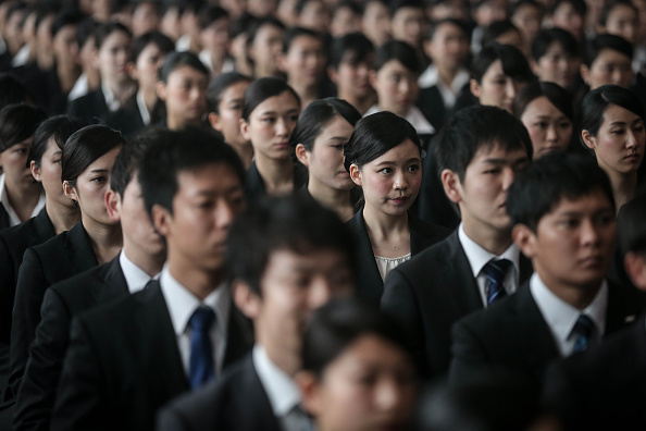 Japan「ANA Welcomes New Recruits」:写真・画像(5)[壁紙.com]