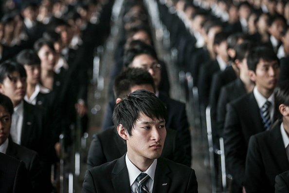 Japan「ANA Welcomes New Recruits」:写真・画像(6)[壁紙.com]