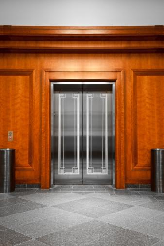 Push Button「Elevator in a modern office building」:スマホ壁紙(12)