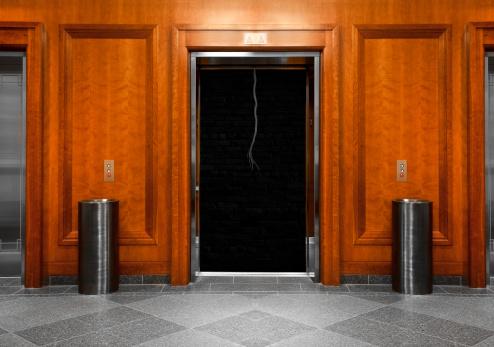 Push Button「Elevator in a modern office building」:スマホ壁紙(3)