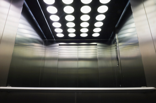 鏡開き「エレベーターのインテリア」:スマホ壁紙(3)