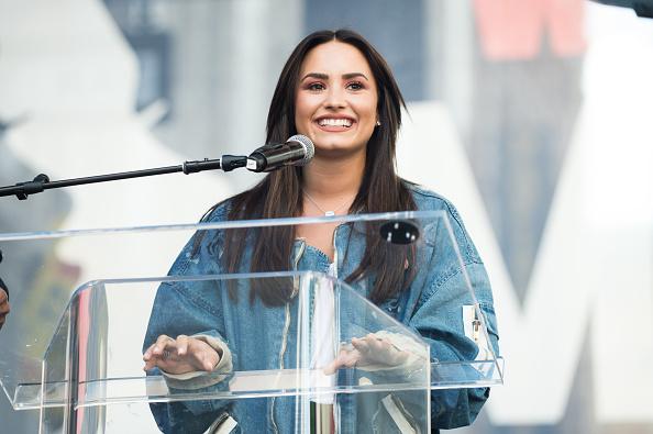 Demi Lovato「Women's March Los Angeles」:写真・画像(15)[壁紙.com]