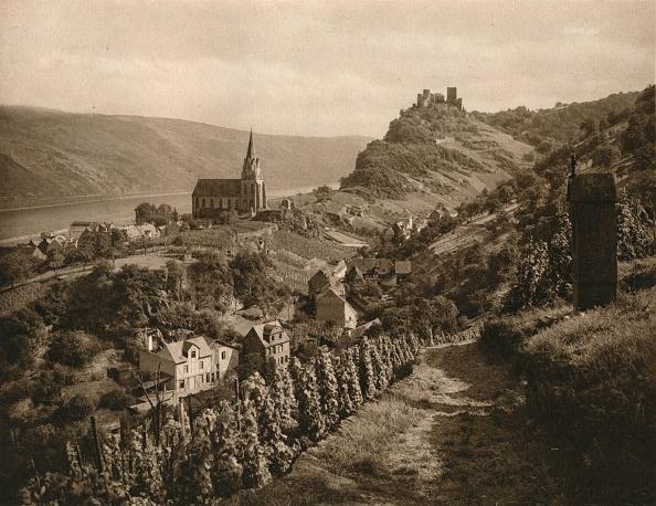 Rural Scene「Oberwesel (Rhein), 1931」:写真・画像(18)[壁紙.com]
