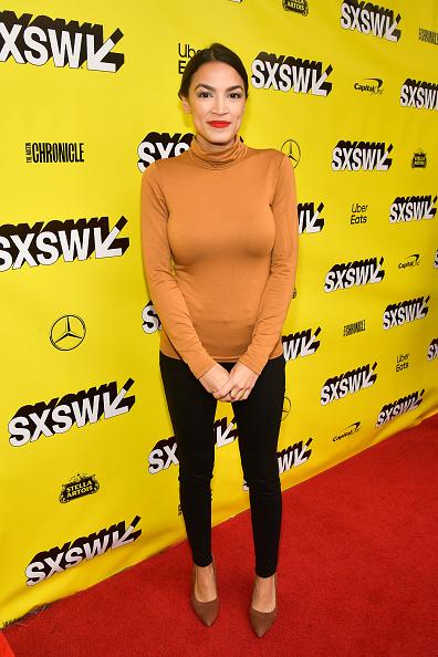 "Alexandria Ocasio-Cortez「""Knock Down The House"" Premiere - 2019 SXSW Conference and Festivals」:写真・画像(0)[壁紙.com]"