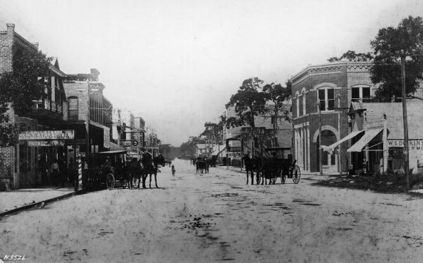1900-1909「Looking West On Flagler Street」:写真・画像(12)[壁紙.com]