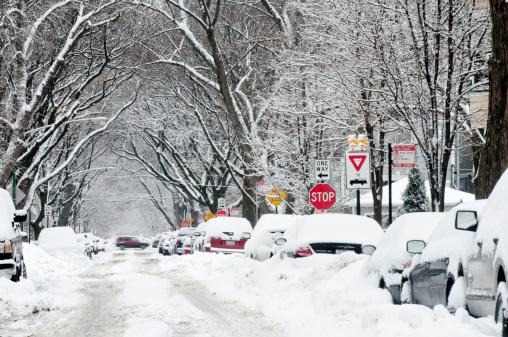 吹雪「Winter Storm」:スマホ壁紙(5)