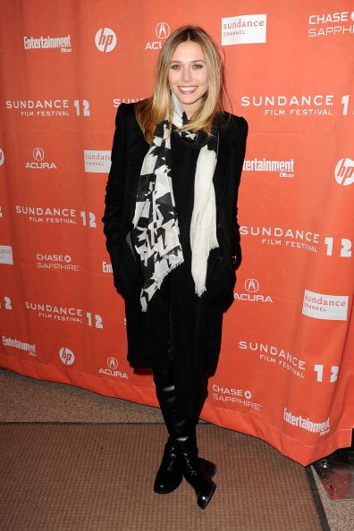 "Elizabeth Olsen「""Red Lights"" Premiere - Arrivals - 2012 Sundance Film Festival」:写真・画像(5)[壁紙.com]"