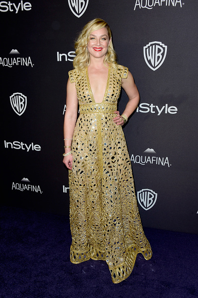 Metallic Dress「2016 InStyle And Warner Bros. 73rd Annual Golden Globe Awards Post-Party - Arrivals」:写真・画像(3)[壁紙.com]