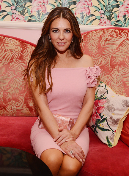 """Elizabeth Hurley「The Estee Lauder Companies Breast Cancer Awareness (BCA) Campaign And The Cinema Society Host A Special Screening Of """"Hear Our Stories. Share Yours."""" - After Party」:写真・画像(6)[壁紙.com]"""