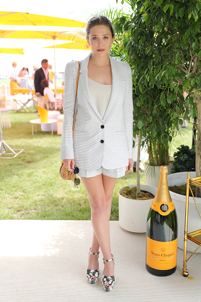 Elizabeth Olsen「The Ninth Annual Veuve Clicquot Polo Classic - VIP」:写真・画像(5)[壁紙.com]