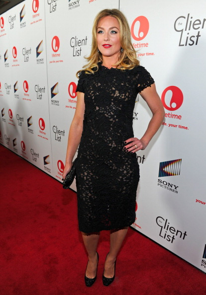 """Embroidery「Lifetime And Sony Pictures Television Red Carpet Launch Party For """"The Client List""""」:写真・画像(0)[壁紙.com]"""