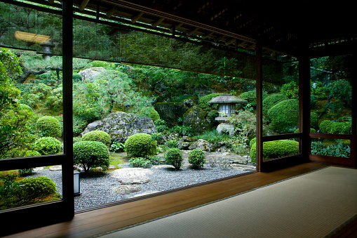 Japanese Garden「Japanese Room with a View」:スマホ壁紙(2)