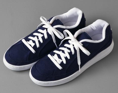 Lace - Fastener「Pair of Blue Tennis Shoes」:スマホ壁紙(12)
