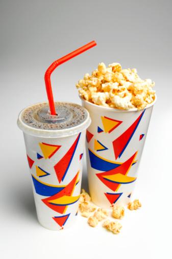 Coke「Soda and popcorn」:スマホ壁紙(19)
