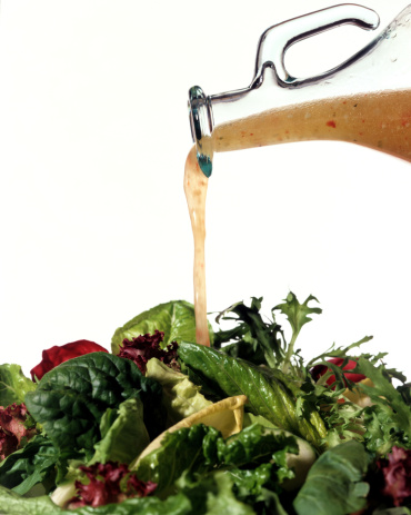 Vinaigrette Dressing「Salad greens with vinaigrette dressing」:スマホ壁紙(12)