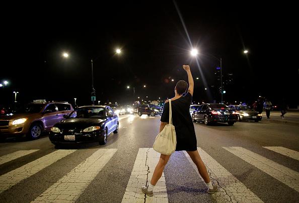 Shooting - Crime「Activists March Against Police Violence In Chicago」:写真・画像(9)[壁紙.com]