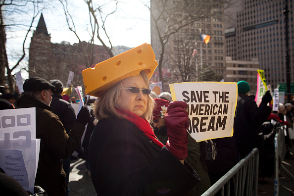 Michael Nagle「Rally Held To Stand In Solidarity With Union Workers Across The Country」:写真・画像(0)[壁紙.com]