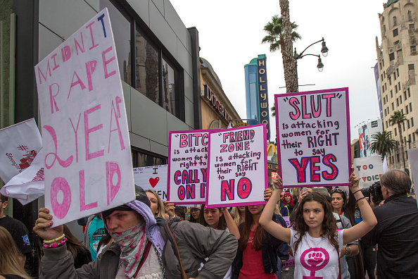 Hollywood - California「March Supporting Sexual Assault Victims Held In Los Angeles」:写真・画像(14)[壁紙.com]