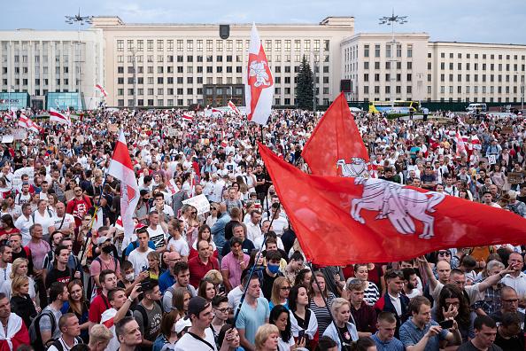 Protest「Belarusian Protesters Look To Broaden Coalition」:写真・画像(6)[壁紙.com]