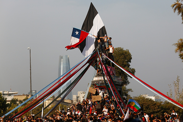 Strategy「Protests Against Inequality Continue in Chile」:写真・画像(5)[壁紙.com]