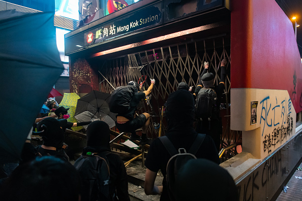 Mong Kok「Anti-Government Protests Continue in Hong Kong」:写真・画像(16)[壁紙.com]