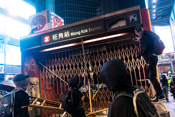 Mong Kok「Anti-Government Protests Continue in Hong Kong」:写真・画像(15)[壁紙.com]