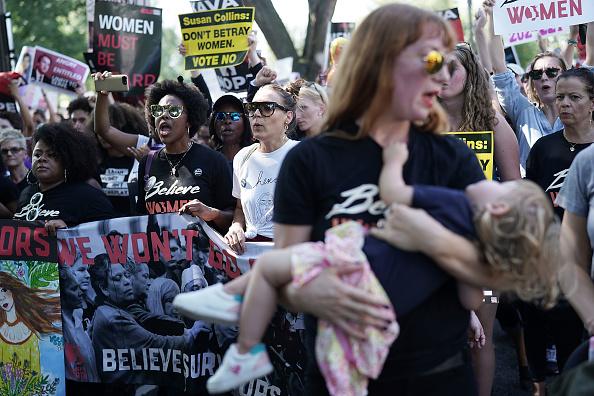Capitol Hill「Activists Rally Against Brett Kavanaugh Nomination In Washington DC」:写真・画像(13)[壁紙.com]
