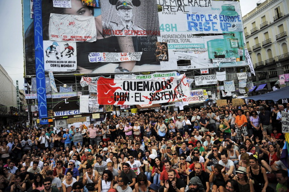 Madrid「Spanish Demonstrate Unemployment and Austerity Measures」:写真・画像(11)[壁紙.com]