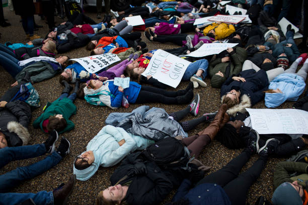 USA「Teens For Gun Reform Hold Protest At The White House」:写真・画像(10)[壁紙.com]