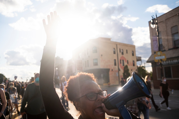 Protestor「Black Lives Matter Protests Continue Around Detroit」:写真・画像(8)[壁紙.com]