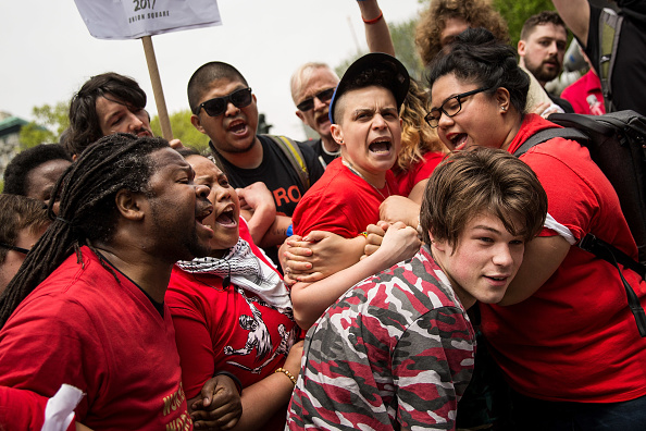 Prejudice「Thousands Attend May Day Protests Across The U.S.」:写真・画像(0)[壁紙.com]