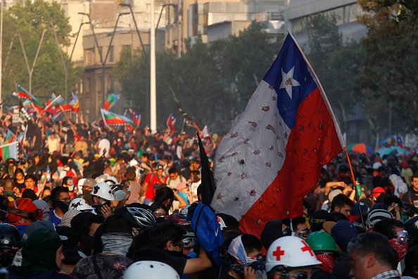 Chile「Ongoing Protests In Chile」:写真・画像(17)[壁紙.com]