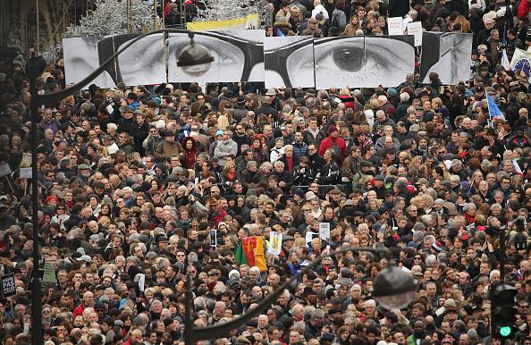 2015 Republican Marches「Mass Unity Rally Held In Paris Following Recent Terrorist Attacks」:写真・画像(4)[壁紙.com]
