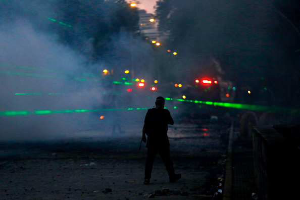 Lighting Equipment「Ongoing Protests Force Social Reforms In Chile」:写真・画像(9)[壁紙.com]