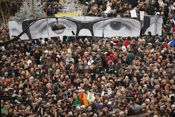 Boulevard Voltaire「Mass Unity Rally Held In Paris Following Recent Terrorist Attacks」:写真・画像(2)[壁紙.com]