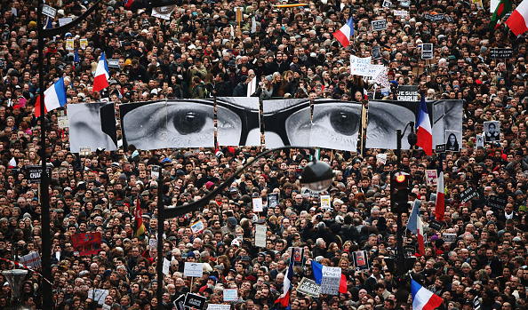 Boulevard Voltaire「Mass Unity Rally Held In Paris Following Recent Terrorist Attacks」:写真・画像(0)[壁紙.com]