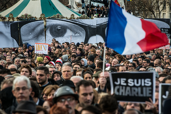 Boulevard Voltaire「Mass Unity Rally Held In Paris Following Recent Terrorist Attacks」:写真・画像(11)[壁紙.com]
