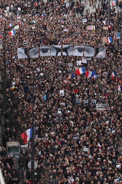 France「Mass Unity Rally Held In Paris Following Recent Terrorist Attacks」:写真・画像(16)[壁紙.com]