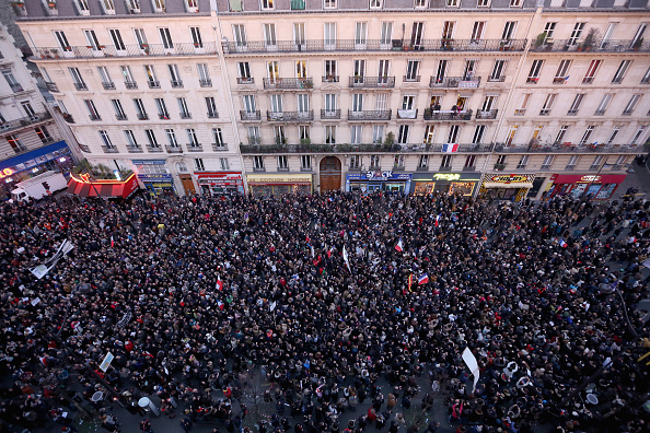 Boulevard Voltaire「Mass Unity Rally Held In Paris Following Recent Terrorist Attacks」:写真・画像(19)[壁紙.com]