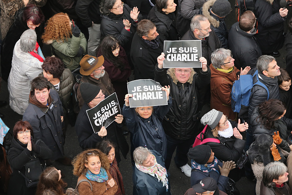 Boulevard Voltaire「Mass Unity Rally Held In Paris Following Recent Terrorist Attacks」:写真・画像(17)[壁紙.com]