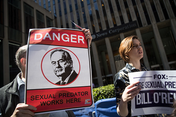 Fox Photos「Protestors Call For Removal Of Bill O'Reilly At Fox News HQ In New York」:写真・画像(17)[壁紙.com]
