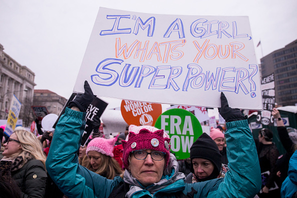 Washington DC「Annual Women's March Takes Place In Cities And Towns Across The Country」:写真・画像(8)[壁紙.com]