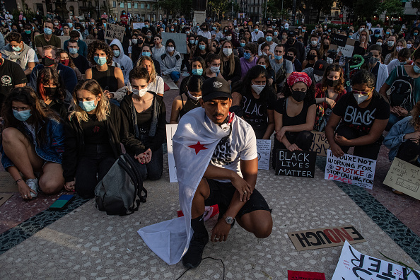 Minnesota「Black Lives Matter Movement Inspires Demonstrations In Spain」:写真・画像(17)[壁紙.com]