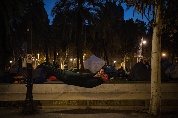 Wireless Technology「Pro-independence Associations Meet At The Catalan High Court Demanding Release Of Arrested Officials」:写真・画像(0)[壁紙.com]