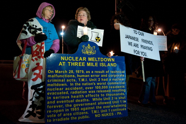 Three Mile Island「Anniversary Of Nuclear Disaster At Three Mile Island Marked Near The Site」:写真・画像(9)[壁紙.com]