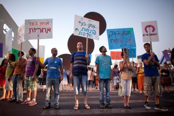 Self-Immolation「Israelis Demonstrate For Social Equalities」:写真・画像(19)[壁紙.com]