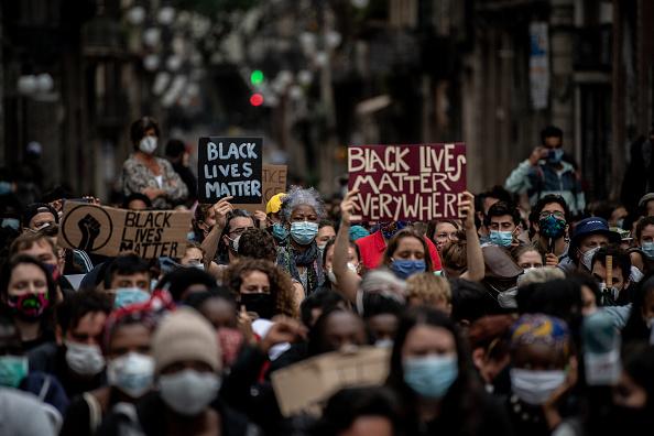 Unity「Black Lives Matter Movement Inspires Demonstrations In Spain」:写真・画像(2)[壁紙.com]